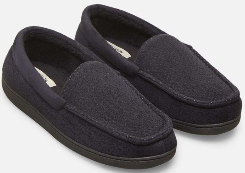 kenneth cole mens Perforated Indoor/Outdoor Slipper with Memory Foam