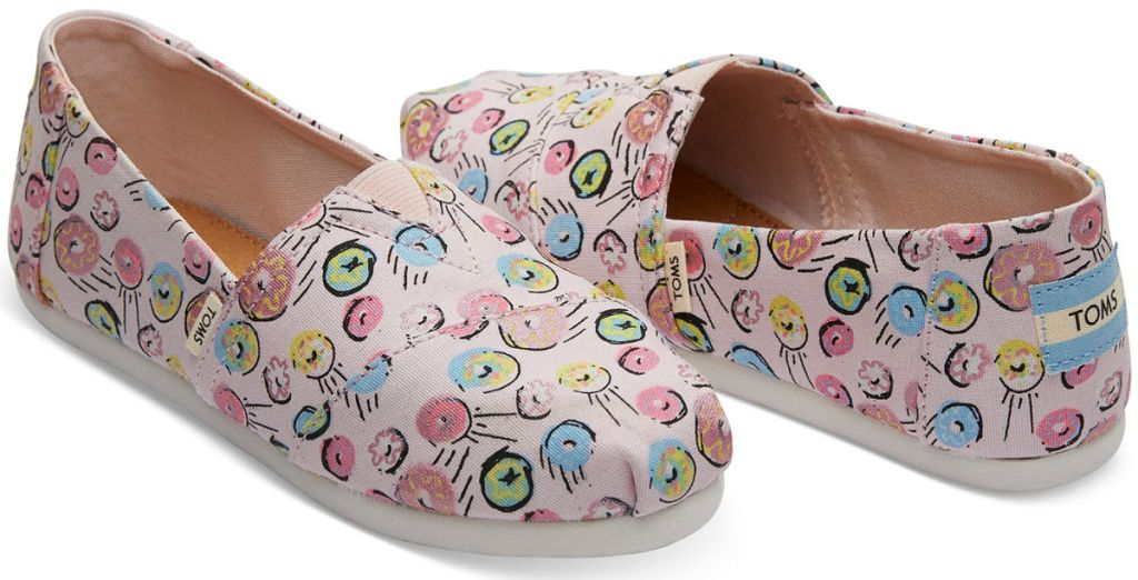 Pink Donuts Print Youth Classics