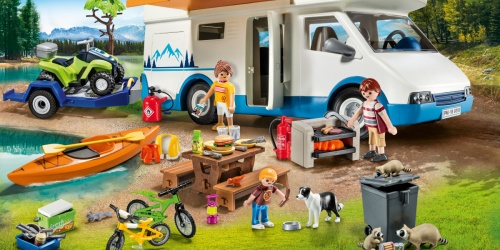 PLAYMOBIL Camping Adventure Set Just $29 Shipped on Amazon (Regularly $70)