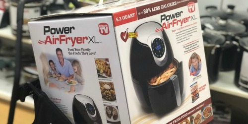 Power Air Fryer XL as Low as $53.99 Shipped (Regularly $150) + Earn $10 Kohl's Cash