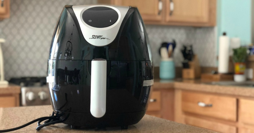 Power XL Brand air fryer in kitchen on counter top