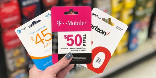 FREE $10 Target Gift Card w/ Select $50+ Prepaid Mobile Card Purchase