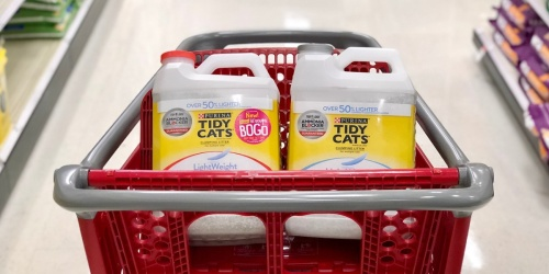 Up to $15 Off Pet Products at Target = Stock Up on Treats, Food, Toys & More