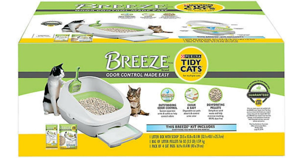 Purina Tidy Cats litter system