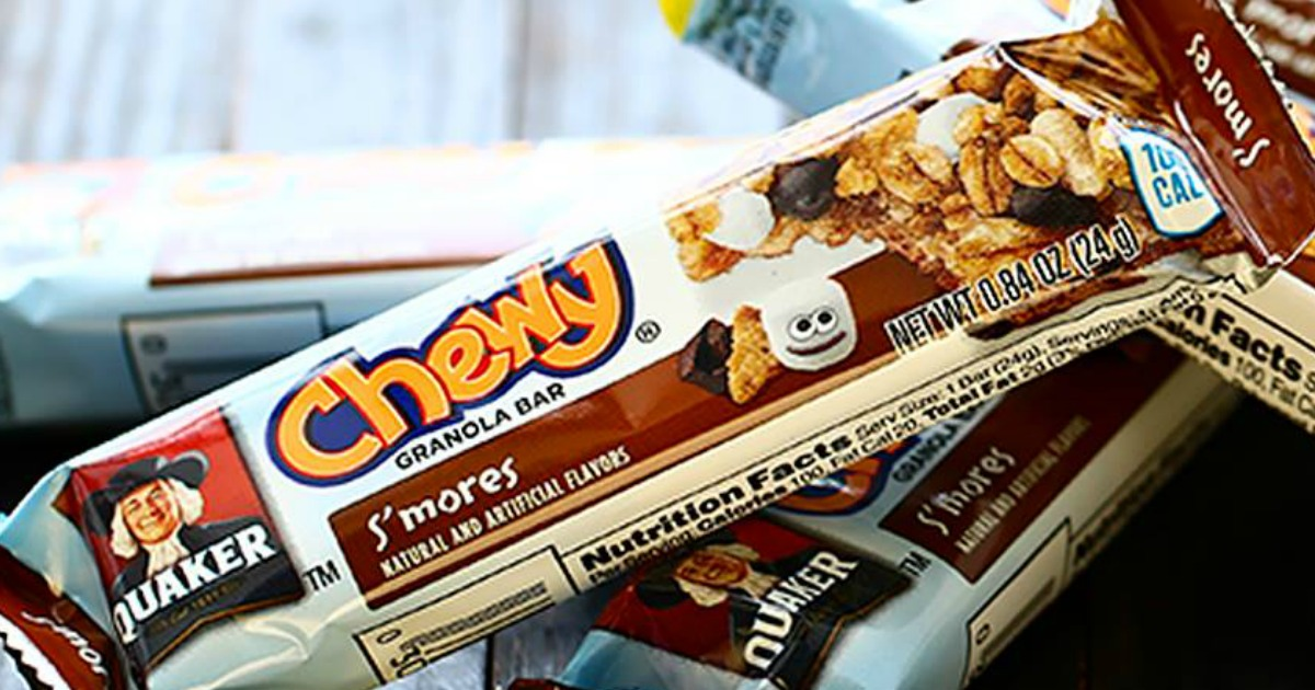 Quaker Chewy S'mores bar