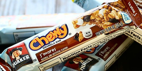 Amazon Prime Day Deal | Quaker Chewy Granola Bars 58-Count Variety Pack Only $6.51 Shipped