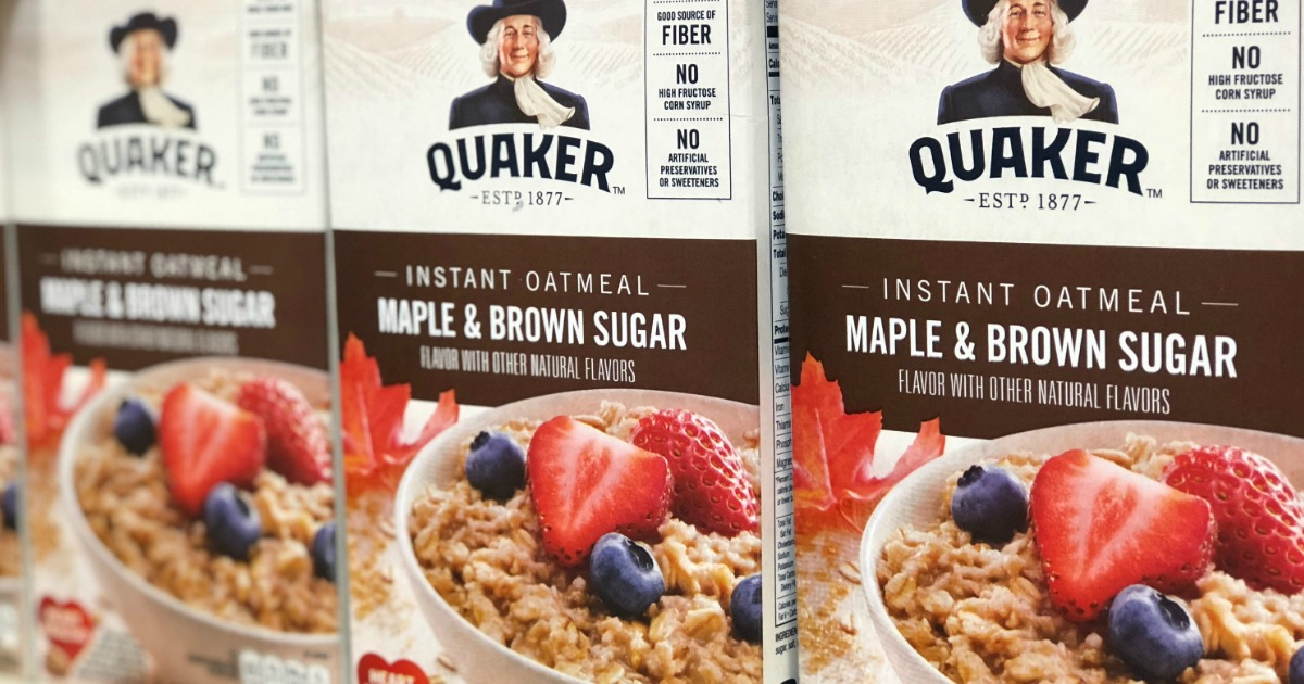 quaker oats sweepstakes 2019 amazon prime deal quaker oats quick oatmeal large 80oz 1828