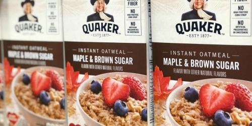 Amazon Prime: Quaker Instant Oatmeal 48-Count as Low as $7 Shipped