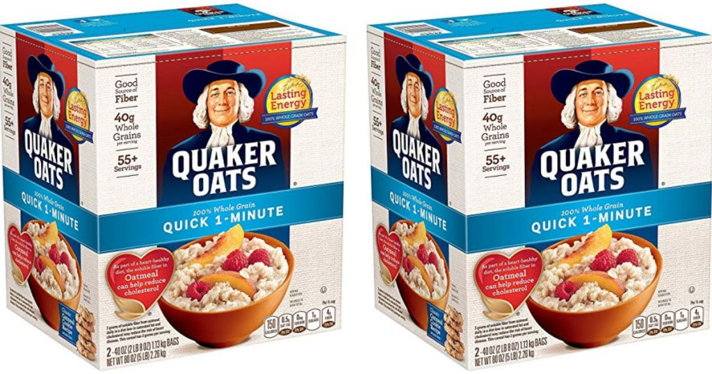quaker oats sweepstakes 2019 amazon prime deal quaker oats quick oatmeal large 80oz 7637