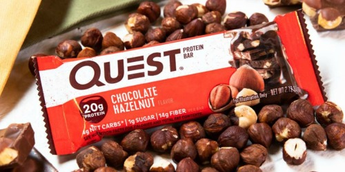 Amazon: Quest Nutrition Chocolate Hazelnut Protein Bar 12-Pack Only $13 Shipped
