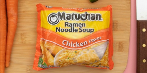 Maruchan Ramen Noodle Soup 24-Count Only $4.80 on Amazon (Just 20¢ Each)