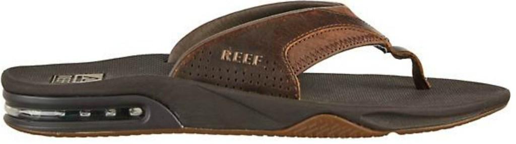 brown reef flip flops
