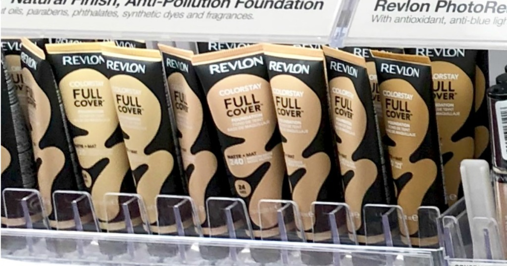 Revlon Colorstay Foundation on shelf