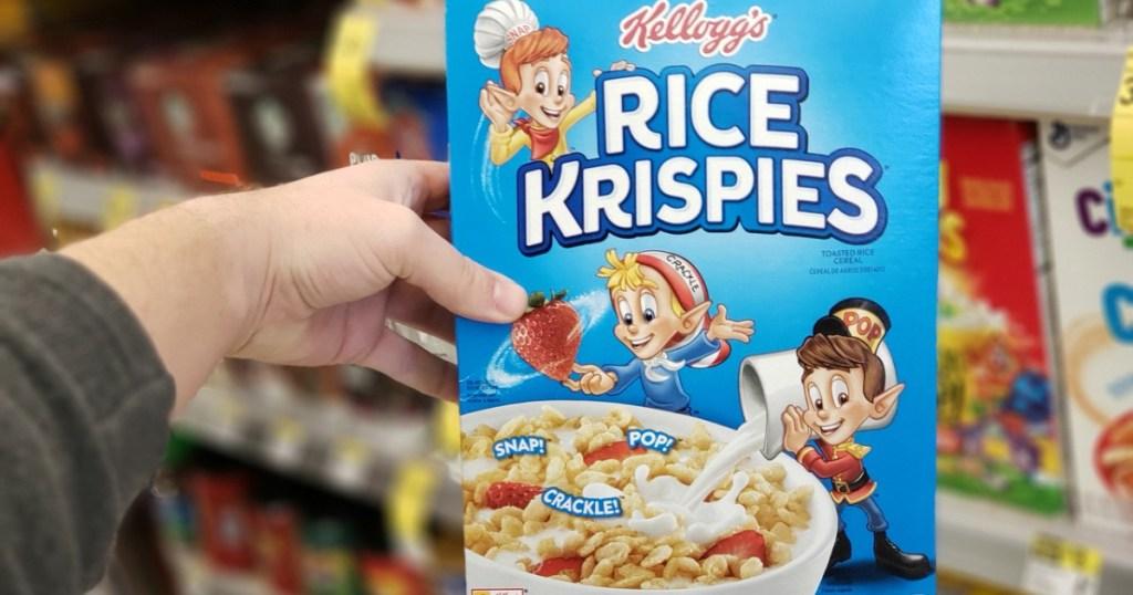 kelloggs rice krispies cereal