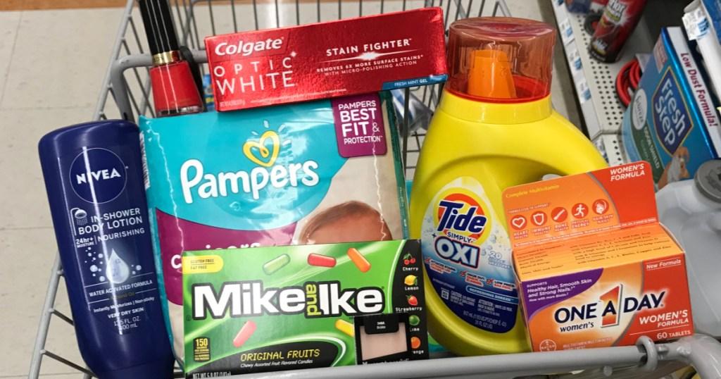 Rite Aid Weekly Shopping Cart
