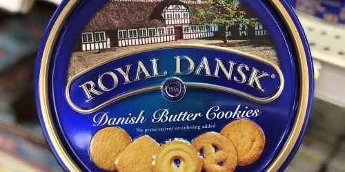 Royal Dansk Danish Butter Cookies 1.5-Pound Tin Only $5.56 Shipped at Amazon