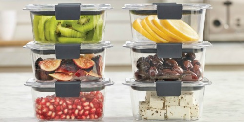 Rubbermaid Brilliance Food Storage Container 18-Piece Set Only $17.98 (Regularly $30) + More