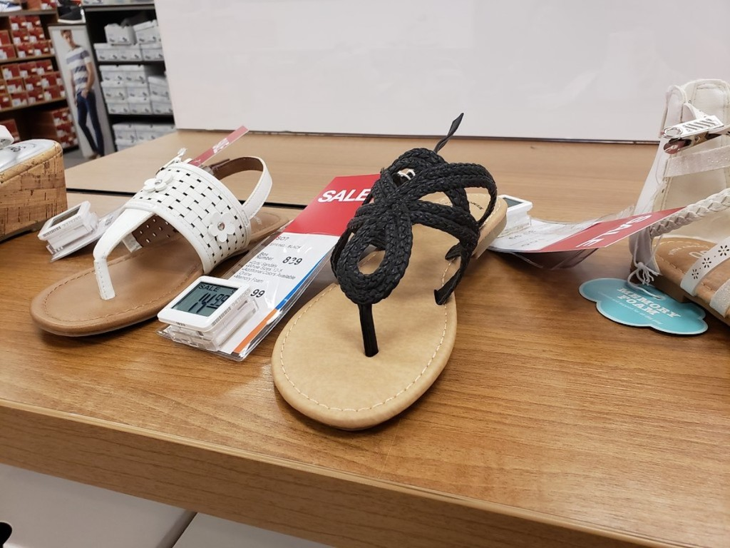 SO Girl's Sandals on shelf