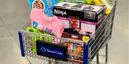 Top 5 Favorite Home Items to Score at Sam's Club One-Day Sale | Ninja Blender, Roomba & More