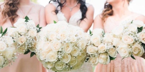 $80 Off White Rose Wedding Collection at Sam's Club (Includes Handmade Bouquets, Corsages & More)