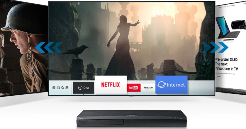 Samsung Blu-ray Player by TV's