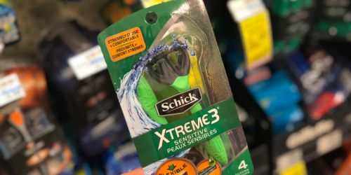 High Value $4/1 Schick Disposable Razors Coupon = as Low as 32¢ at CVS + More