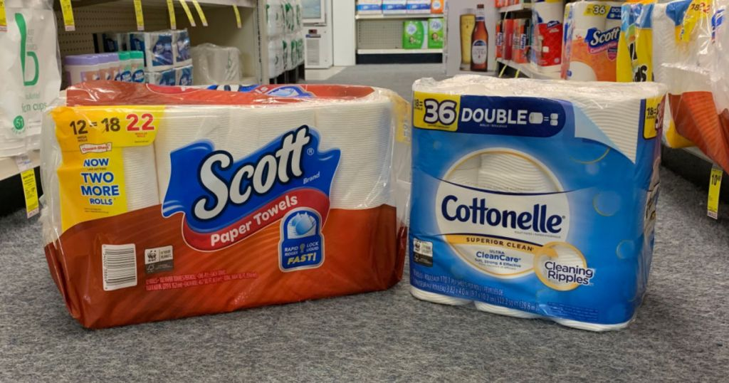 package of scott and cottonelle