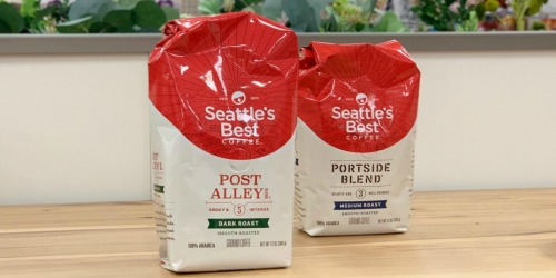 Seattle's Best Ground Coffee 12oz Bags Only $3.14 Each Shipped on Amazon