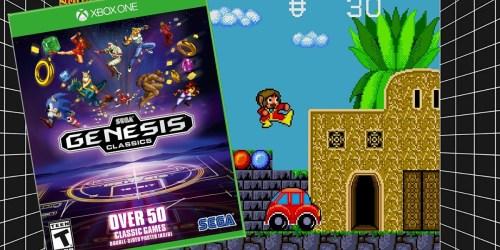Sega Genesis Classics Xbox One Game Only $9.97 at GameStop.com (Regularly $25)