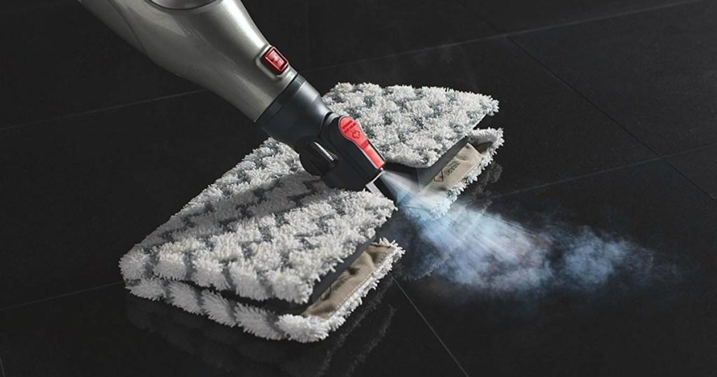 Shark Genius Pocket Steam Mop used on hard floor