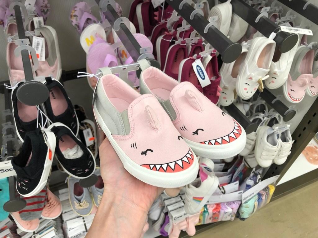 Toddler Girl Old Navy Shark shoes