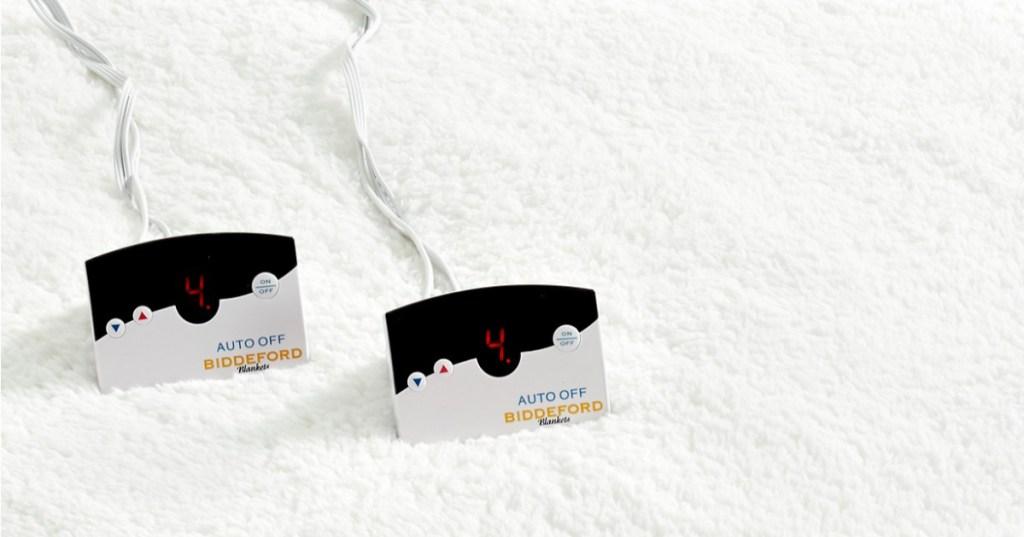 80% Off Biddeford Sherpa Reversible Heated Mattress Pads