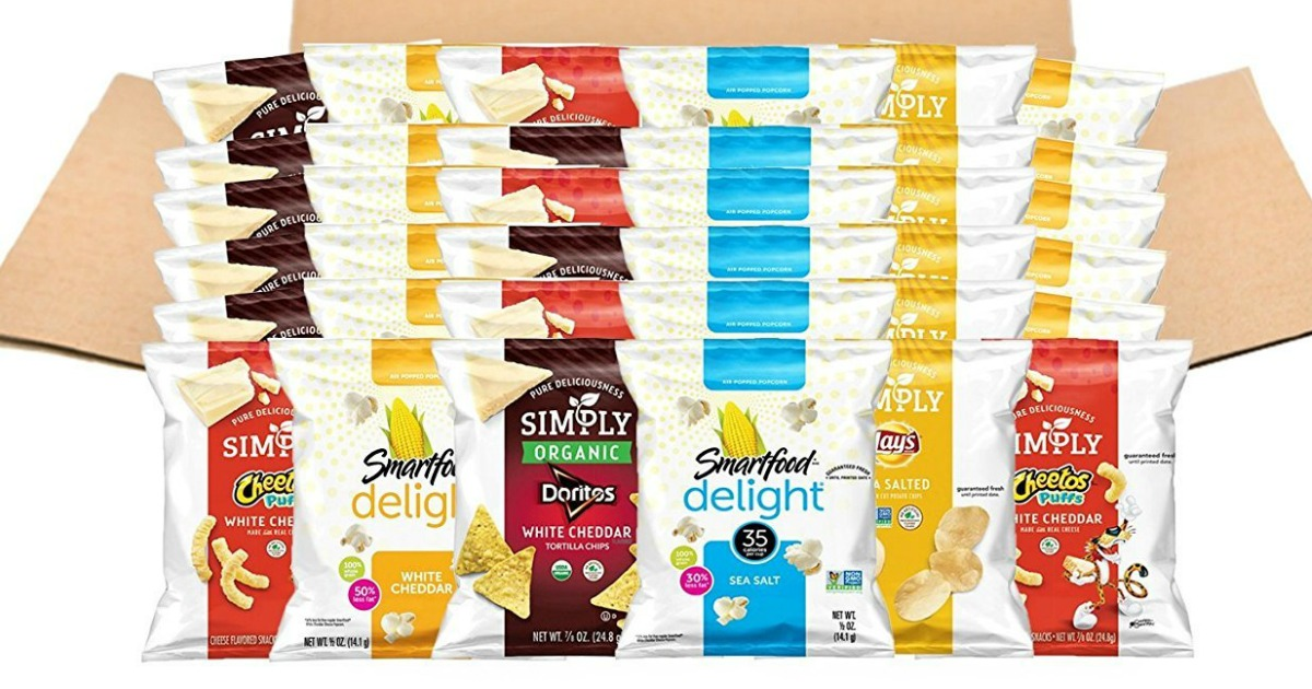 Simply & Smartfood Delights 36 Count Single Serve Bags