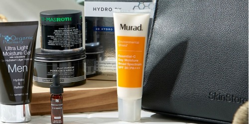 SkinStore Men's Skin Care Kit Only $40 Shipped ($250 Value) – Includes Murad, Peter Thomas Roth & More