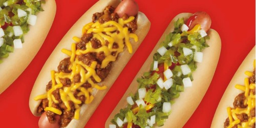 Celebrate National Hot Dog Day | Sonic Drive-In All-American or Chili Cheese Coney Dog ONLY $1