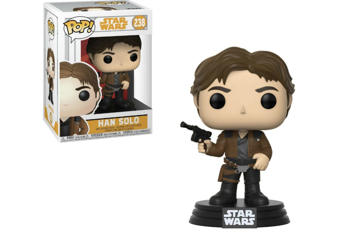 Star Wars Funko Pop! Hans Solo figure and box
