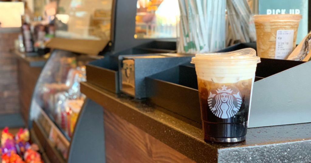 Starbucks Cold Brew near mobile order