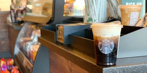 Buy 1, Get 1 FREE Starbucks Cold Coffee or Cold Espresso Beverages (August 8th After 2PM)