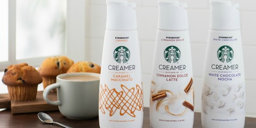 Starbucks Coffee Creamers Coming to Store Near You