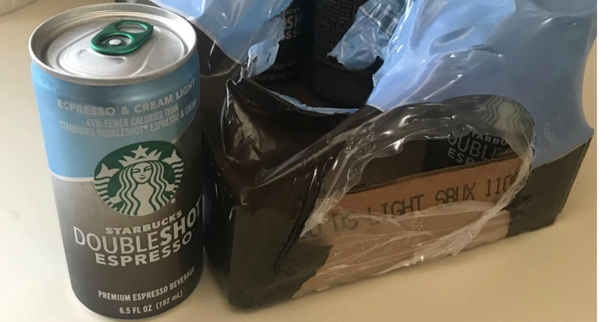 Amazon Prime Deal Starbucks Doubleshot Espresso 12 Pack