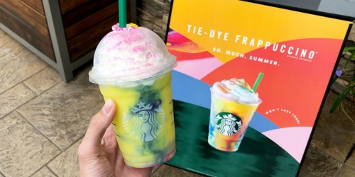 Starbucks Tie-Dye Frappuccino is HERE | Available for Limited Time Only