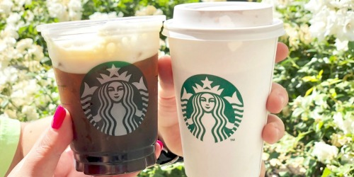 You Can Score FREE Unlimited Starbucks Refills with ANY Beverage Purchase