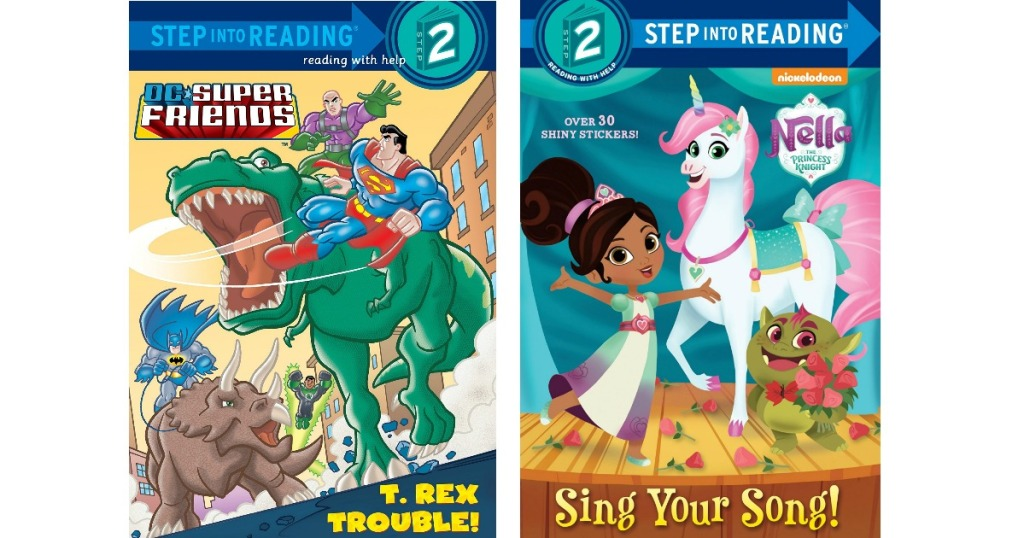 Step into Reading Books