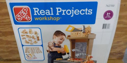 Step2 Real Projects Toy Workshop With Tools Only $34.99 Shipped (Regularly $70)