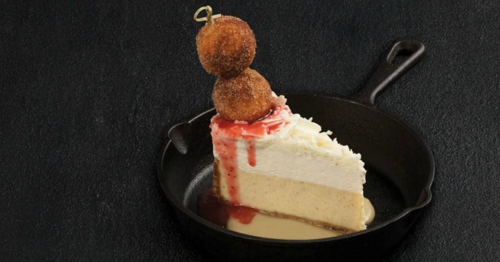TGI Fridays Donut Cheesecake