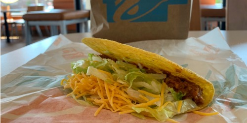 2 FREE Crunchy Tacos w/ $20 Taco Bell eGift Card Purchase