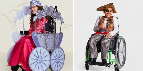 Target Debuts Wheelchair-Friendly Adaptive Halloween Costumes for Kids (Pre-Order Now)