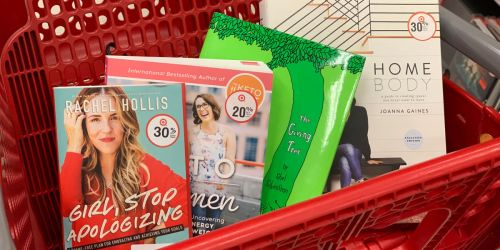 20% Off ALL Books at Target (Including Sale Items)
