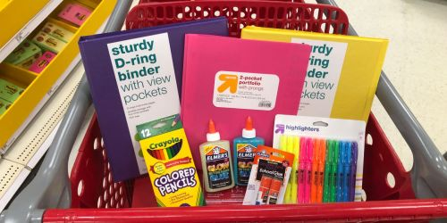 Get Rare 15% Off Target Coupon w/ $10 Back to School Purchase (Starts 8/24)