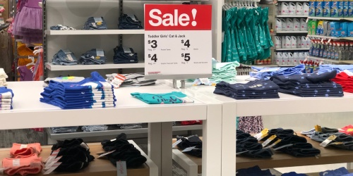 Cat & Jack Kids Tees, Tanks & Shorts as Low as $3 at Target